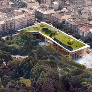 Muzeum Etnograficzne w Budapeszcie. Fot. OVO Grąbczewscy Architekci