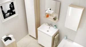 W mieszkaniu wbloku łazienka często jest ciasna inieustawna. Podpowiadamy, jak na małym metrażu zmieścić wszystkie potrzebne sprzęty isprawić, by wnętrze wydawało się większe, ajednocześnie było przytulne.