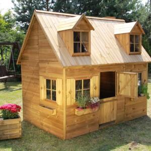 Drewniany domek Maria. Fot. 4IQ