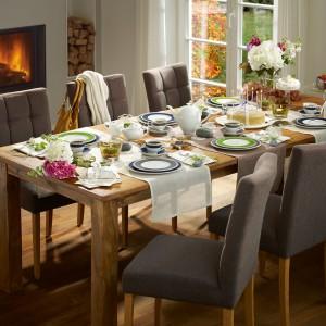 Pomysł na dekorację świątecznego stołu. Fot. Rosenthal