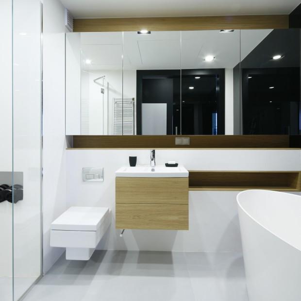 Nowoczesna łazienka - 15 projektów architektów
