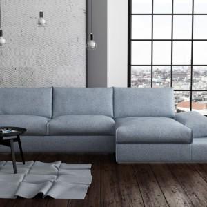 Szara kanapa Vibe Bed. Fot. Adriana Furniture