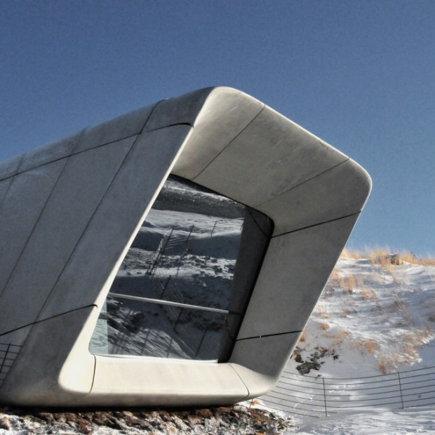 Muzeum w górze - zachwycający obiekt autorstwa Zahy Hadid i Petera Irmschera