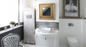 Strefa umywalki to najbardziej reprezentacyjne miejsce w całej łazience. Świetnym rozwiązaniem będzie zastąpienie tradycyjnej szafki podumywalkowej zdobną konsolą.