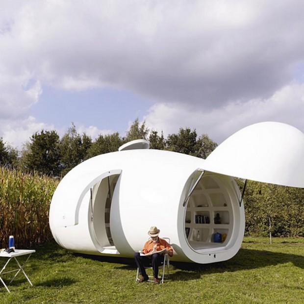 Domy w kształcie jaja. Zobacz oryginalne projekty