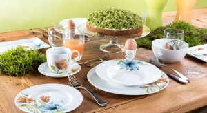 <br />Wielkimi krokami zbliżają się święta wielkanocne. Przygotowania do uroczystego śniadania to dobra okazja na zakup nowej zastawy lub kilku jej elementów. Serwis dopełni aranżację stołu i będzie godną oprawą dla świątecznych dań