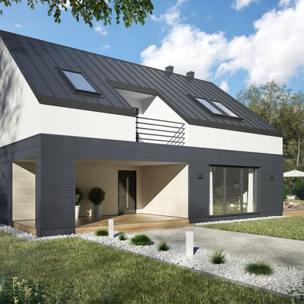 Wokół domu: nowoczesna elewacja kamienna