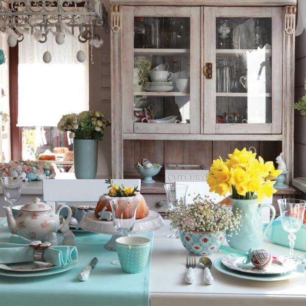 Wielkanocny stół w trzech odsłonach