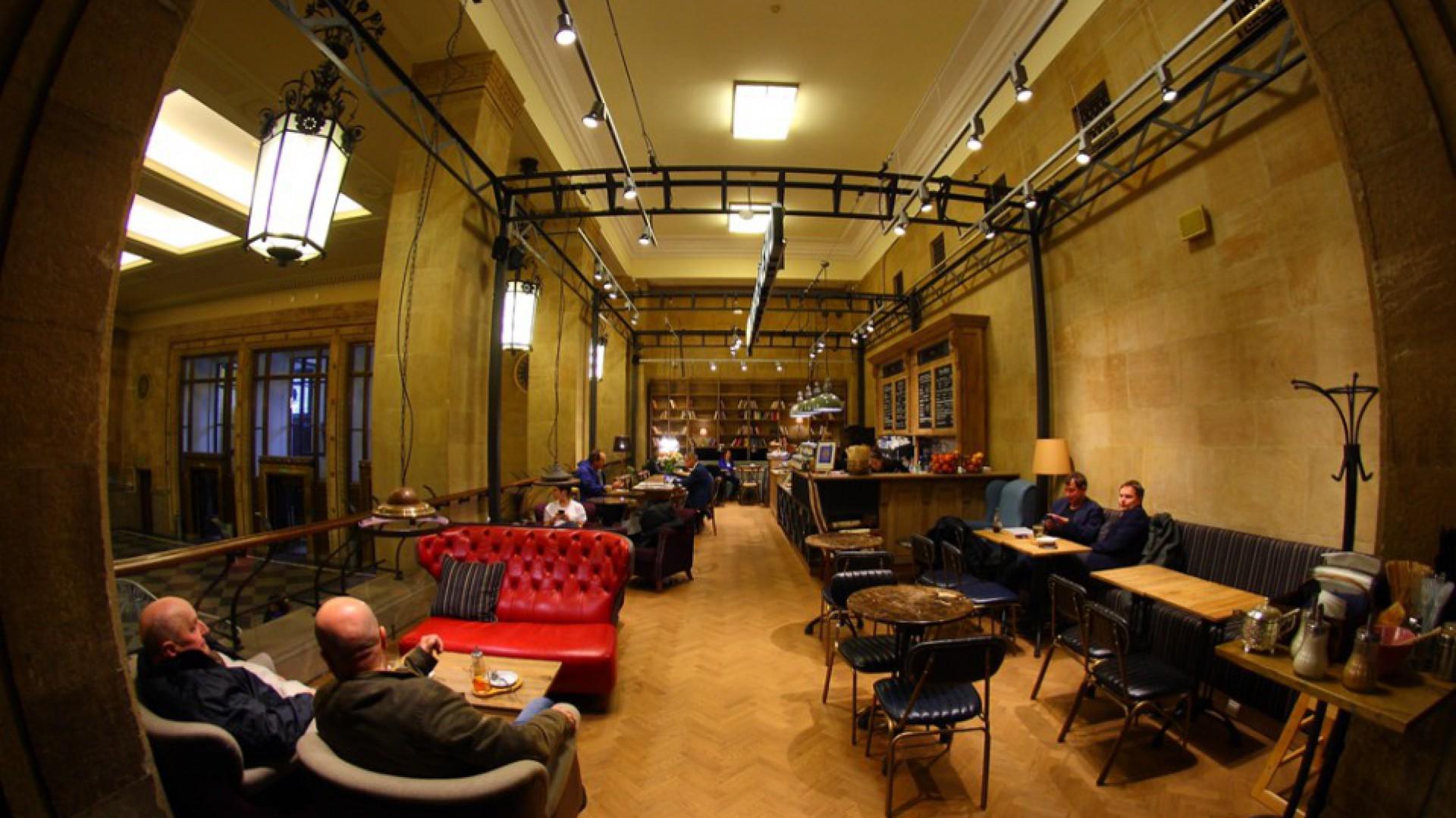 Green Caffe Nero PKiN fot. mat. prasowe