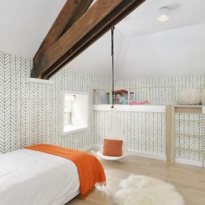 Pokój dzieci właścicieli. Projekt: Linc Thelen Design. Fot. Jim Tschetter