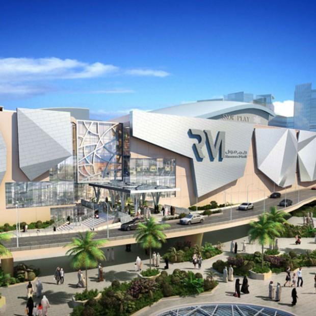 Niezwykłe centrum handlowe w Abu Dhabi z parkiem śnieżnym