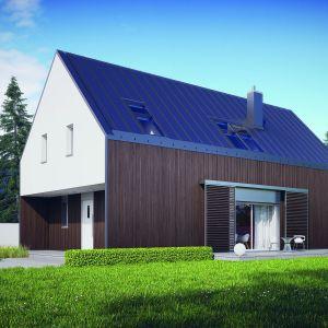Prosta forma oraz ergonomiczny podział wnętrza sprzyjają energooszczędności – w dużym stopniu ograniczają straty ciepła i zużycie energii. Fot. Pracownia Projektowa Archipelag