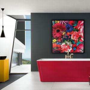 Kolorowa obudowa wanny. Fot. Villeroy&Boch