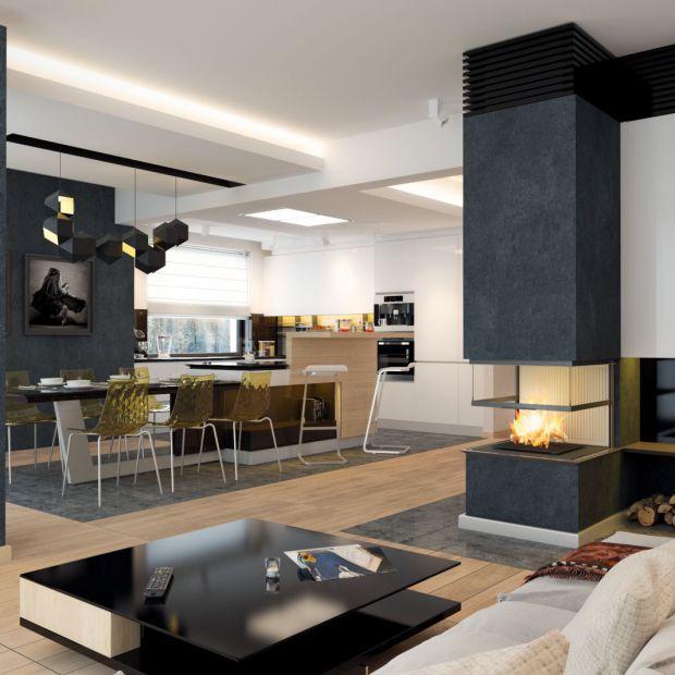 Nowoczesny piętrowy dom: projekt i wnętrza!