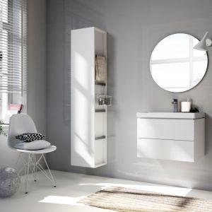 Białe meble do łazienki: kolekcja City. Fot. Cersanit