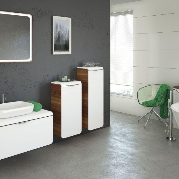 Białe meble do łazienki: 10 modnych zestawów