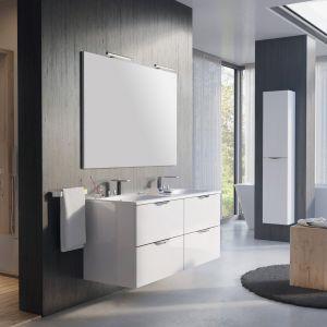 Białe meble do łazienki: kolekcja Ambio. Fot. Elita