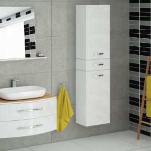 Białe meble do łazienki: kolekcja Capri firmy Devo, www.devo.pl. Fot. Devo