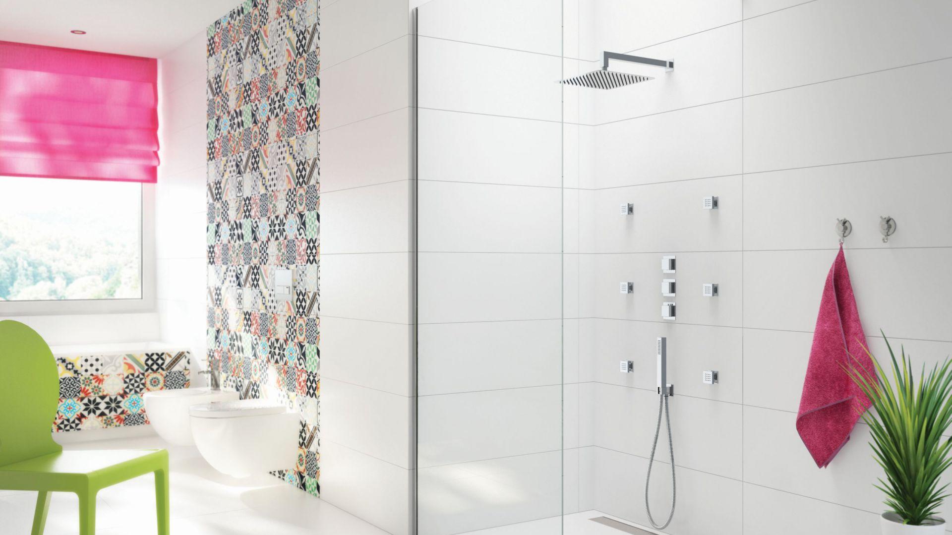 Zestaw armatury prysznicowej Multi-System. Fot. Deante