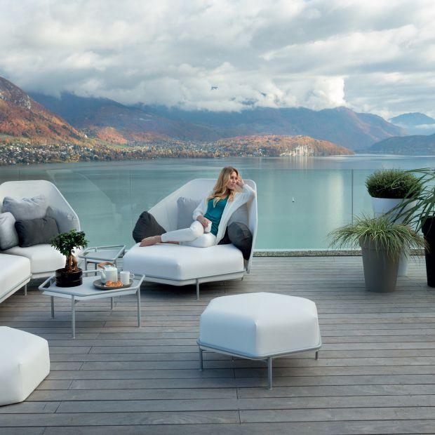 Meble do ogrodu, na balkon i taras - 20 pięknych zestawów