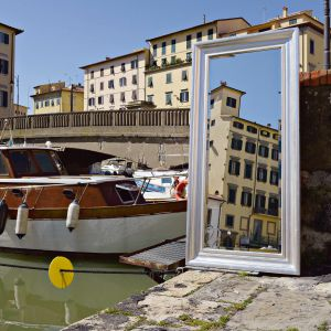Klasyczne lustra. Fot. BMB Italy/Dekorian