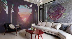 Fototapety i murale ścienne mogą powiększyć optycznie nawet najmniejszy salon. Efekt zastosowania takiego triku przejdzie najśmielsze oczekiwania.