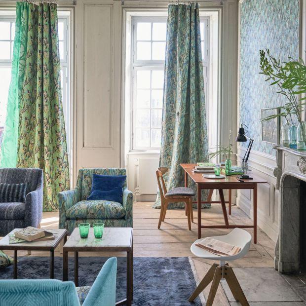 Modny salon - 5 pomysłów w kolorze greenery