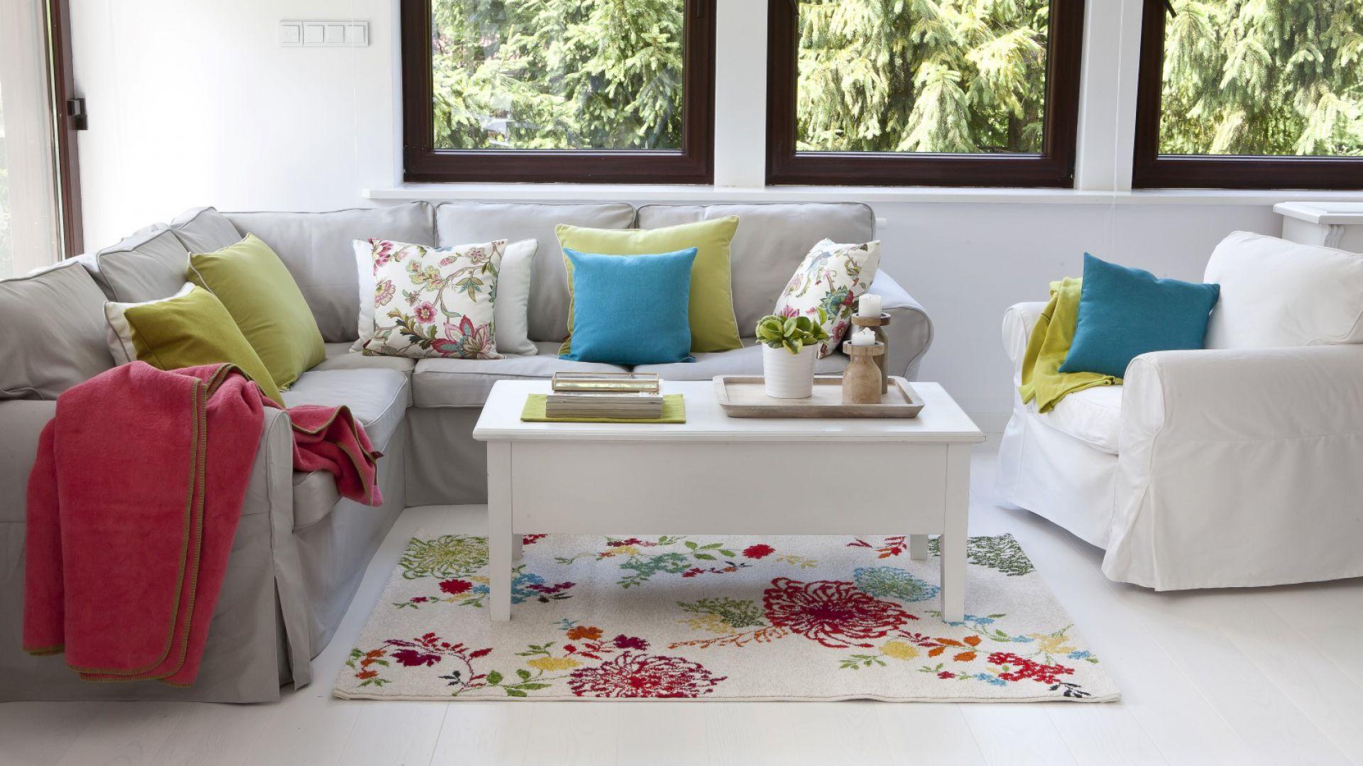 Dywan Modern Flowers cream. Fot. Dekoria.pl