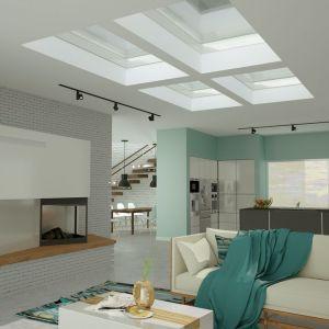 Możliwości aranżacyjne dachu płaskiego. Fot. Okpol