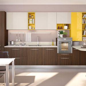 Kolorowa kuchnia. Na zdjęciu: meble z kolekcji firmy Lube Cucine. Fot. Lube Cucine