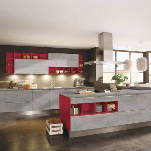 Kolorowa kuchnia. Na zdjęciu: meble z kolekcji firmy Wellmann. Fot. Wellmann