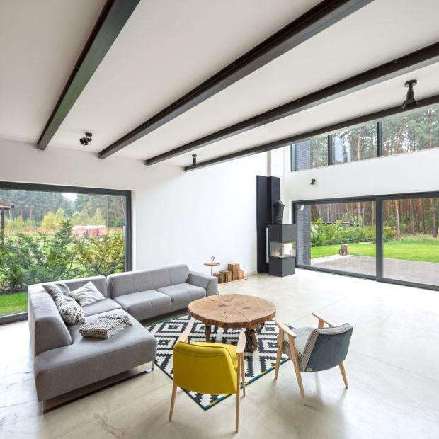 Rodzinny dom - piękne wnętrza z widokiem na las