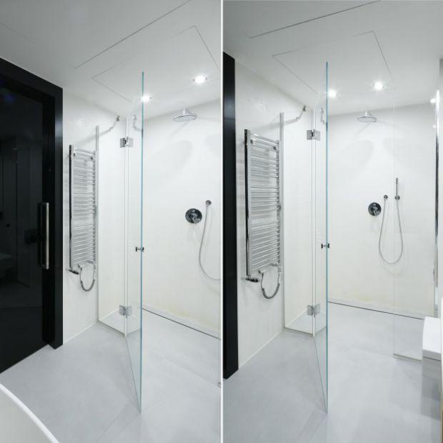 Kabina prysznicowa bez brodzika: aranżacje z polskich domów