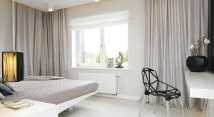 Nasze sypialnie są coraz większe, wyposażone w meble i dodatki zapewniające komfort wypoczynku, funkcjonalne i estetyczne. Zaaranżowane zgodnie z upodobaniami mieszkańców, w odpowiadającym im stylu, posiadają szereg udogodnień.