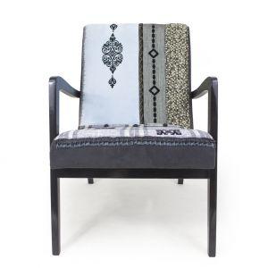 Fotel BUENA VISTA w stylu retro patchwork. Fot. La Silla / Dawanda.pl