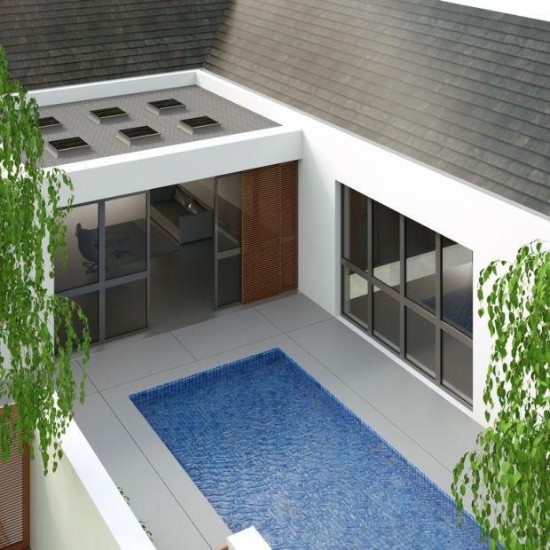 Dom z płaskim dachem. Jak wpływa na projekt wnętrza