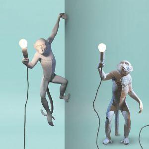 Zjawiskowe lampy Monkey Lights marki Seletti. Fot. Seletti