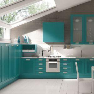 Kolorowa kuchnia. Na zdjęciu: meble z kolekcji firmy Febal. Fot. Febal