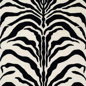 Wełniany, ręcznie tkany dywan Nahla I o wzorze inspirowanym pasami zebry. Wymiary: 152x91 cm. 529 zł. Fot. Westwing