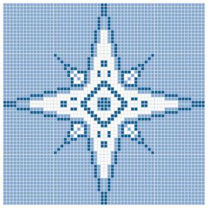 Mozaika basenowa Q Compas. Fot. Dunin
