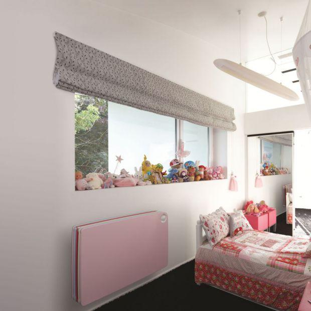 Pokój dziecka: kolorowe grzejniki w wersji dla chłopca i dziewczynki