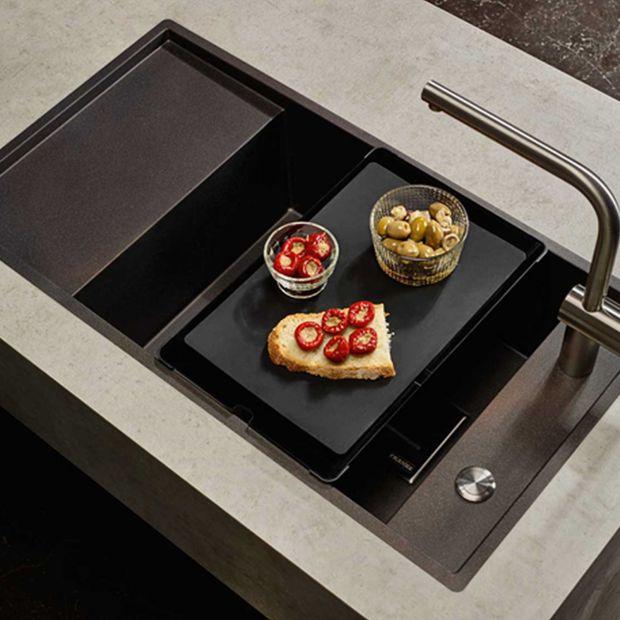 Zlewozmywak w kolorze espresso - praktyczny model