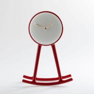 Oryginalny zegar INFINITY wykonany z ceramiki, proj. Nika Zupanc. Fot. Bosa / mood-design.pl