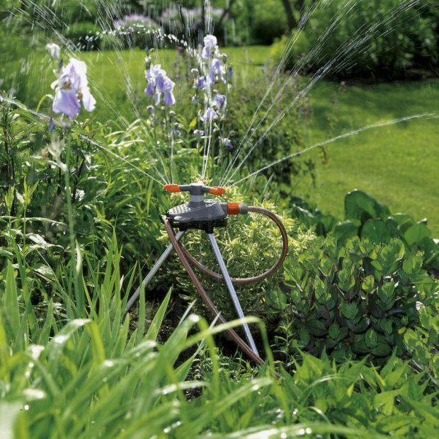Piękny ogród - wypróbuj automatyczny system nawadniania