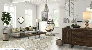 Dwie podłogi w jednym pomieszczeniu? Dzięki dobremu dopasowaniu paneli z różnych kolekcji jest to możliwe. Takie rozwiązanie pozwala optycznie podzielić przestrzeń, bez konieczności stawiania ścian.