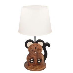 Meble i zabawki dla dziecka. Lampka stojąca Animals Mouse. Fot. Dekoria.pl