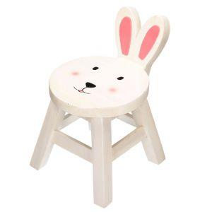 Meble i zabawki dla dziecka. Taboret Bunny. Fot. Dekoria.pl