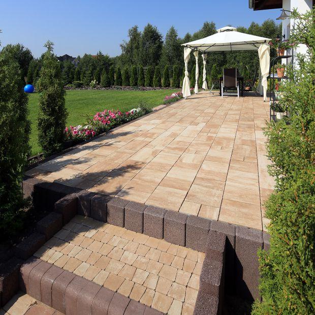 Schody z betonu - sprawdzą się w ogrodzie