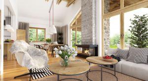 Hawana to parterowy dom dla 4-osobowej rodziny o powierzchni użytkowej 111 m2. Część dzienna to salon połączony zjadalnią iczęściowa zamknięta kuchnia. Część nocna to trzy sypialnie iłazienka. Dopełnieniem funkcji użytkowych są spi�
