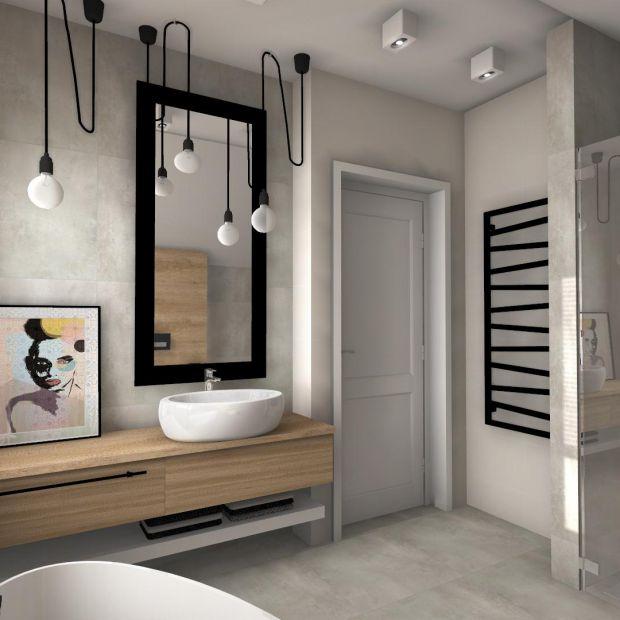Łazienka dla niej i dla niego - wnętrze pełne harmonii